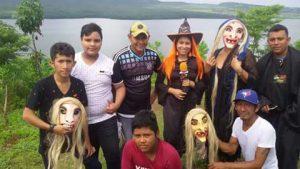 En Masaya, el carnaval de los ahuizotes es parte de las fiestas patronales en honor a San Jerónimo. Foto: A. Silva.
