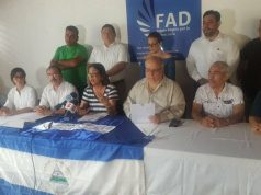 """FAD emite comunicado contra la """"nueva farsa electoral""""."""
