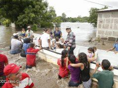18 mil familias afectadas por lluvias. Foto: Presidencia de la República.
