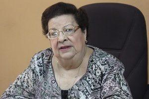 Dra. Vilma Núñez, Presidenta del CENIDH. Foto: Cortesía.