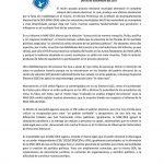Comunicado Movimiento por Nicaragua (MpN)