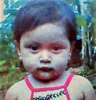 Dayra Junieth, niña asesinada por policías en La Dalia, Matagalpa.