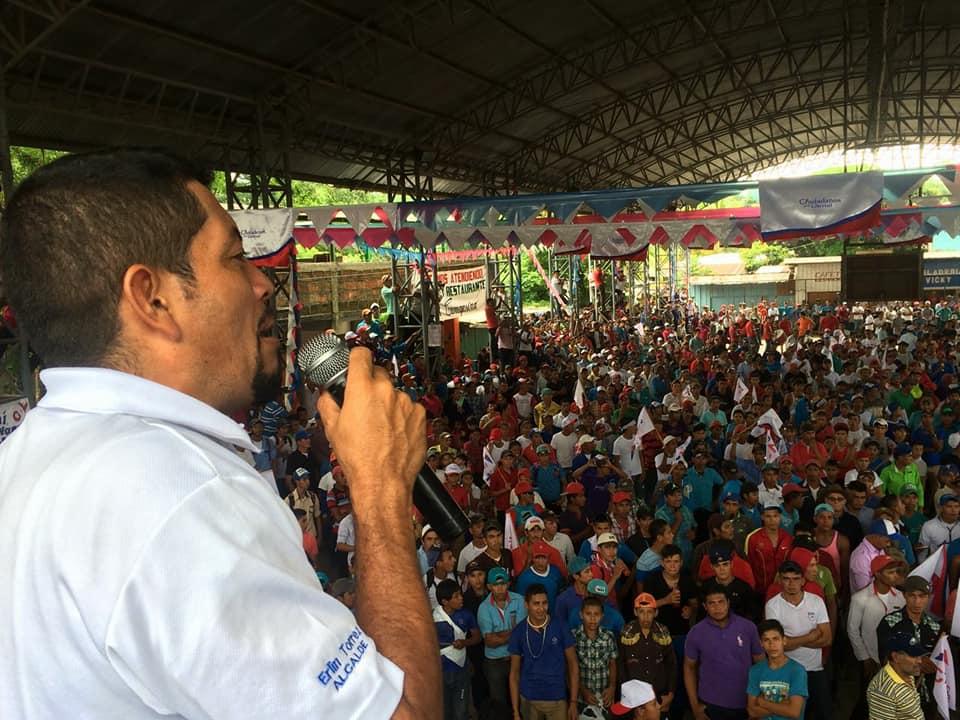 Erlis Torres candidato a alcalde de CxL en el municipio de San José de Bocay, Jinotega.