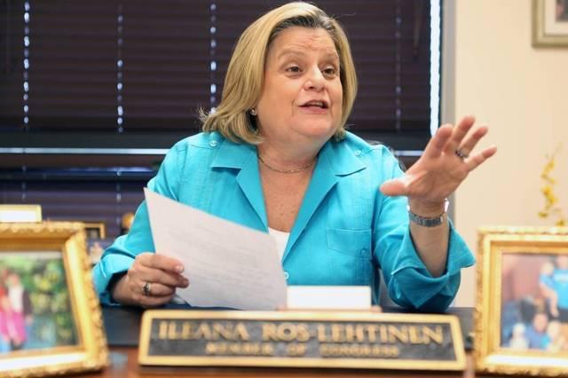 Ileana Ros-Lehtinen. Foto del Miami Herald