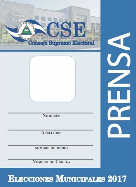 CSE de Estelí sin tinta para imprimir credenciales de prensa