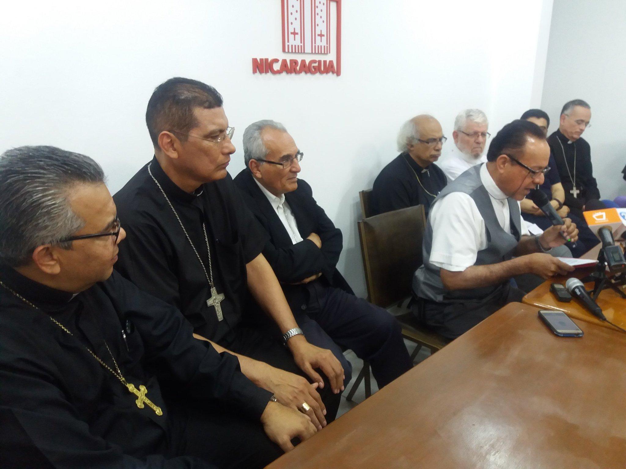 Episcopado nicaragüense opta por los equilibrios y defiende al obispo Báez. Foto: Emiliano Chamorro
