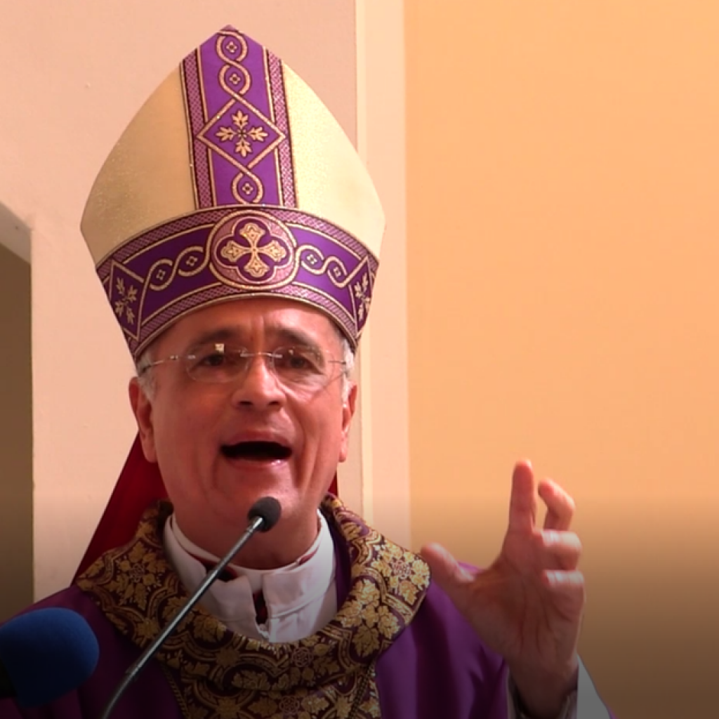 Monseñor Silvio Báez: «Las personas egocéntricas generan desconfianza y provocan divisiones». Foto: Archivo.