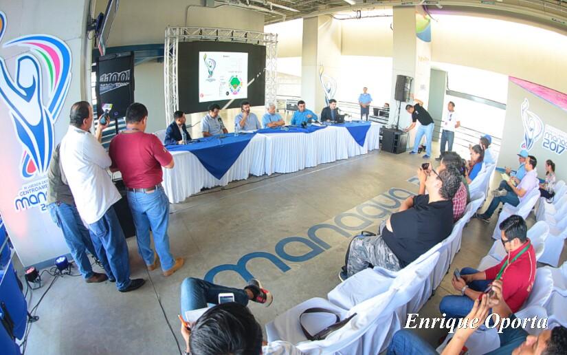 Comité organizador de Managua 2017. Foto: 19 digital