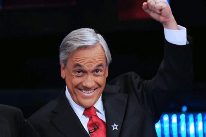 Sebastián Piñera gana las elecciones presidenciales de Chile en segunda vuelta. Foto tomada de internet.