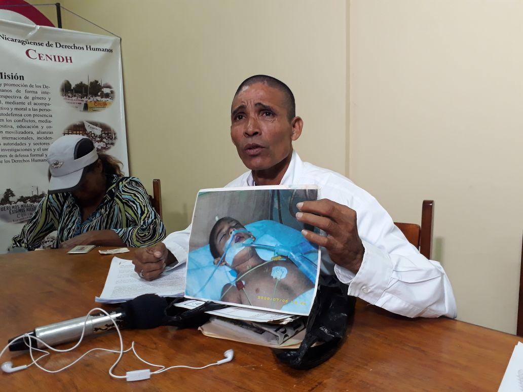 Miembros de Yatama denuncian persecución y violencia en el Caribe. Foto: A. Navarro.