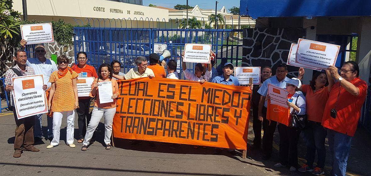 Movimiento Renovador Sandinista sigue exigiendo devolución de su personería jurídica