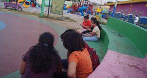 Parque William Martínez Ruiz, ubicado en la Colonia Máximo Jerez. Foto: A. Navarro