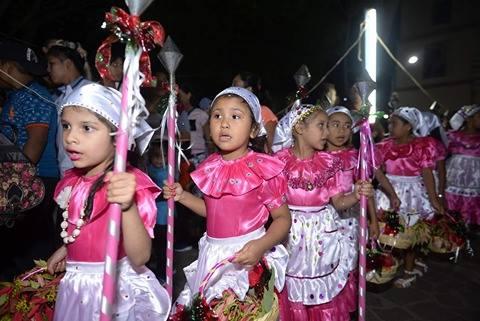 Pastorela en la celebración del Niño Dios del Pueblo. Fotografía: Vanessa Pérez