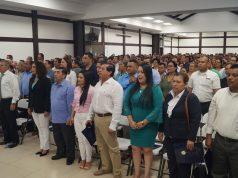 Roberto Rivas ausente en la juramentación de los alcaldes de Managua. Fotografía: Artículo 66