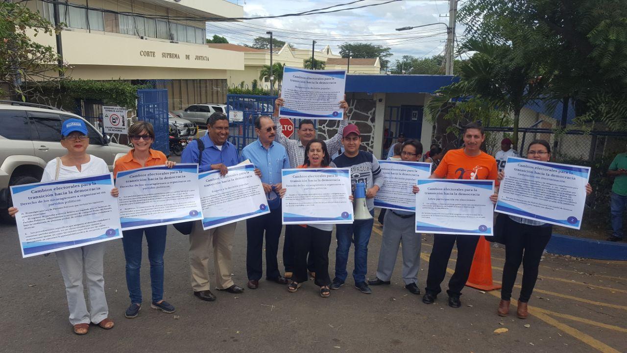 Movimiento Renovador Sandinista exige resolución positiva a la Corte Suprema de Justicia