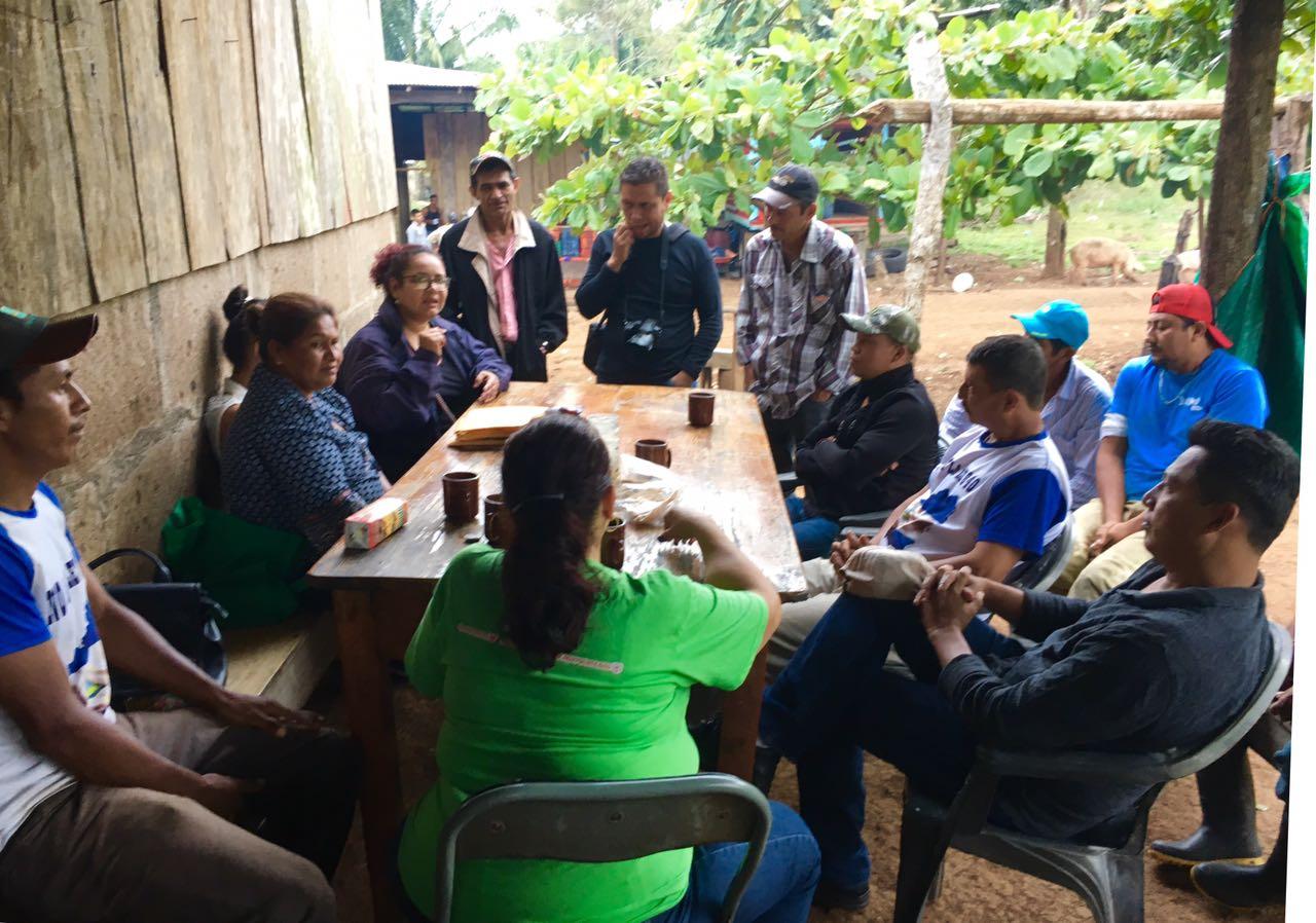 Asambleas del Movimiento Campesino Anticanal. Foto: Cortesía