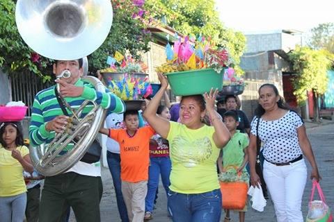 ofrendas en honor al Niño Dios del Pueblo. Fotografía: Vanessa Pérez