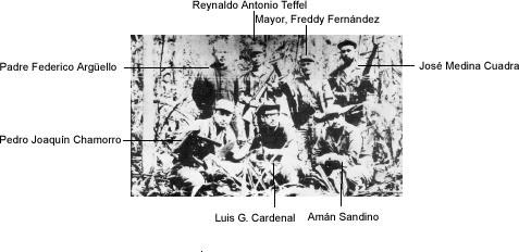 Parte de quienes participaron de la expedición militar que intentaba dar un golpe final a la dictadura de Somoza. Foto: tomada de Nicaragua Actual