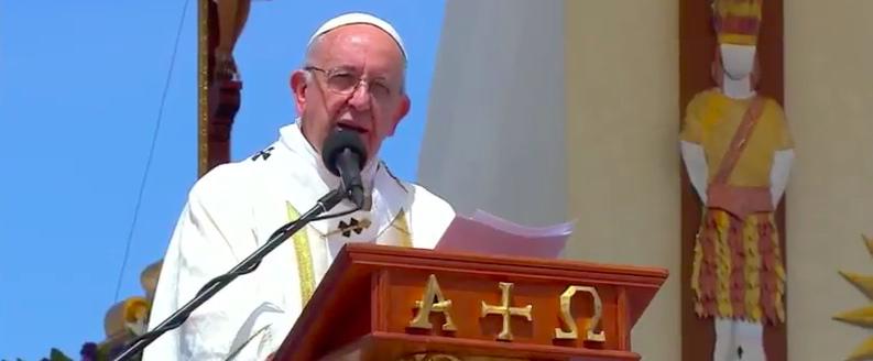 Papa Francisco escuchará la misa campesina nicaragüense