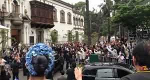 Carlos Mejía Godoy le canta la misa campesina al papa Francisco