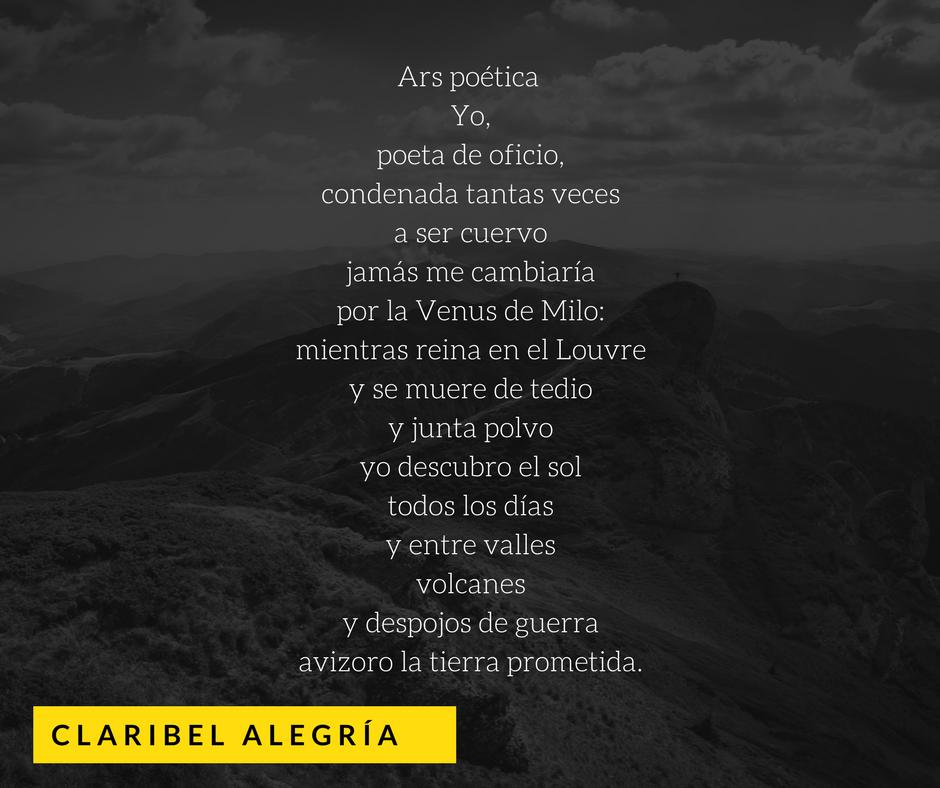 Poema de su libro «Saudade». Diseño: Artículo 66