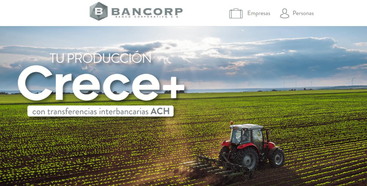El Bancorp, en su sitio web ofrece el servicio de transferencias interbancarias y planes de ahorro. Captura sitio web/Artículo66