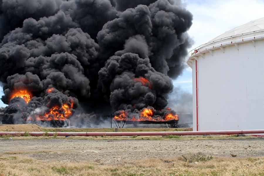 Centro Humboldt denuncia formalmente por delito ambiental a la empresa Puma Energy. Foto: tomada de VosTv