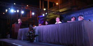inauguración del Festival de Poesía de Granada. Foto: Cortesía Festival Poesía de Granada