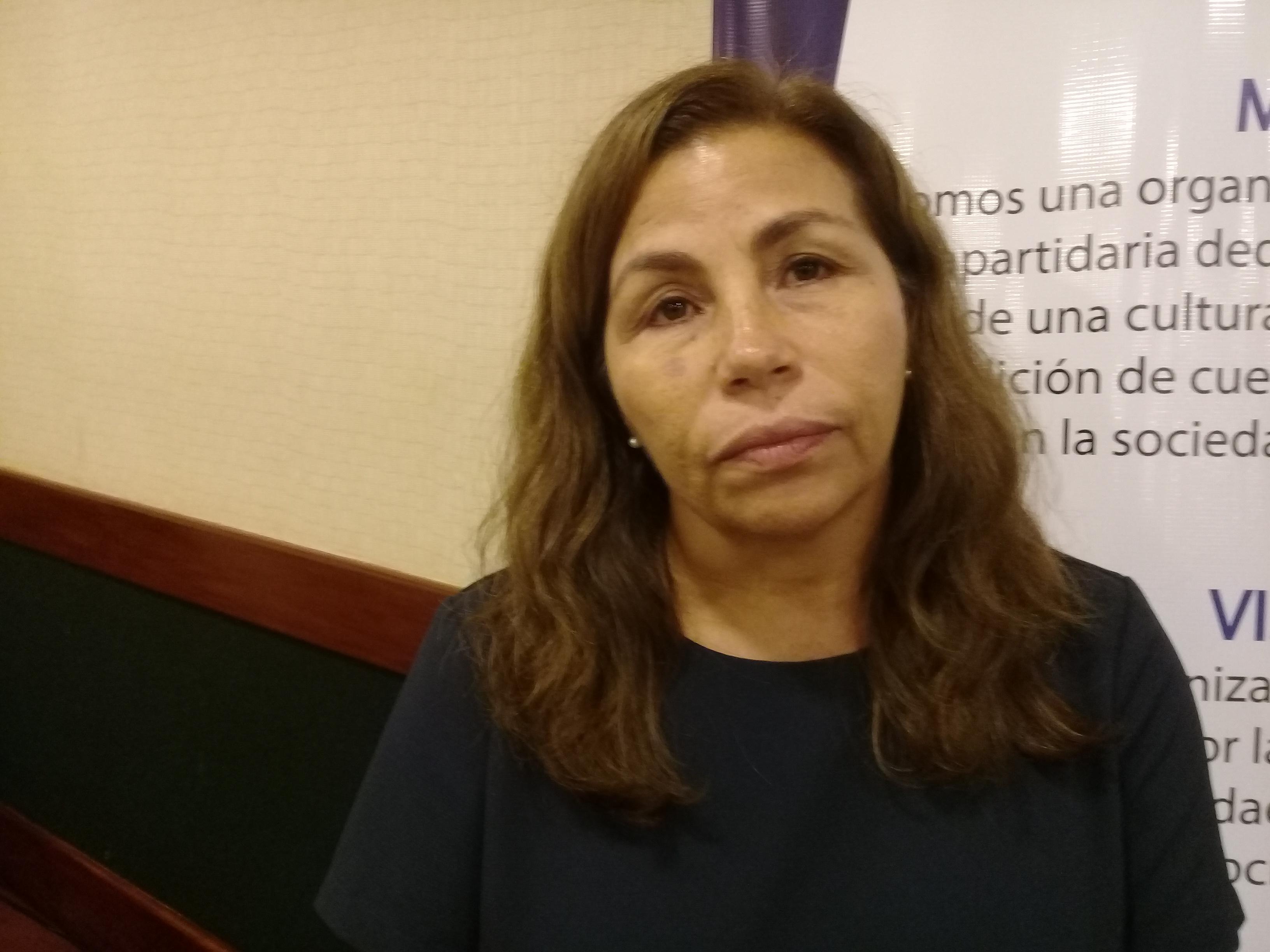 Haydee Castillo, representante del Movimiento de Mujeres Segovianas. Fotografía: Artículo66/Abixael MG