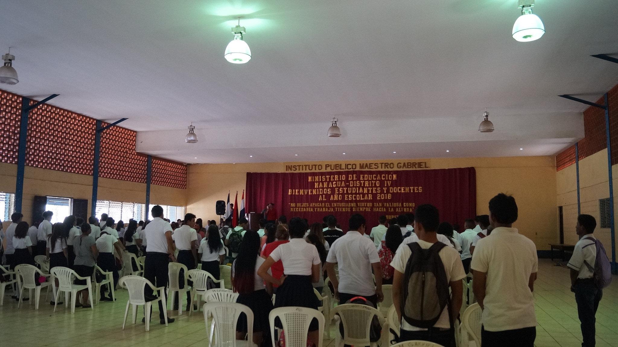 1.7 millones de estudiantes de Nicaragua iniciaron curso escolar 2018. Foto: A. Cruz