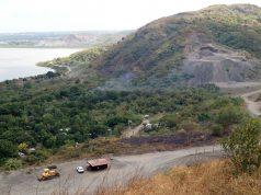 Las areneras que colindan con el barrio Oro Verde, Ciudad Sandino causan tolvaneras que enferman a los pobladores. Foto: A. Cruz