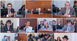 Consejo Permanente de la Organización de Estados Americano aprueba resolución que intenta contrarrestar crisis de Venezuela. Imagen tomada de Twitter OEA