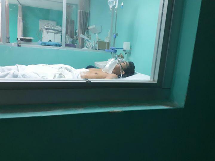 Mixan Zambrano, el joven opositor que fue emboscado en San José de Bocay en enero murió esta mañana en el Hospital Militar