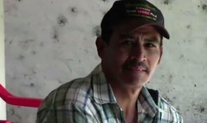 Ramón Benito Guevara Ramírez alias «Infierno / Moncho Guevara», reportado por el Ejército como muerto en combate, pero Figueroa asegura que está vivo en la montaña. Guevara fue policía voluntario y se armó en el 2012. Foto: Cortesía.