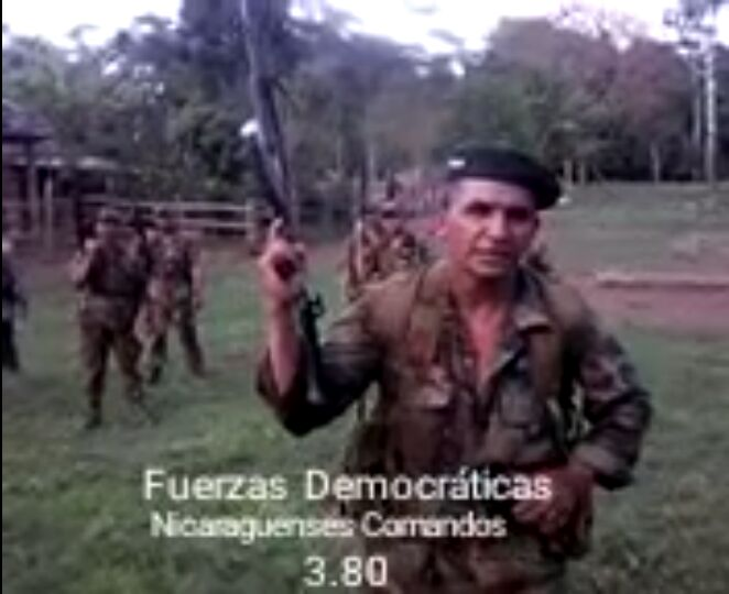 """Dennis Gámez Rugama """"Rigoberto"""", reportado como asesinado por el Ejército, pero según el hijo del Comandante Nicaragua, sigue alzado en las montañas. Foto: Cortesía"""