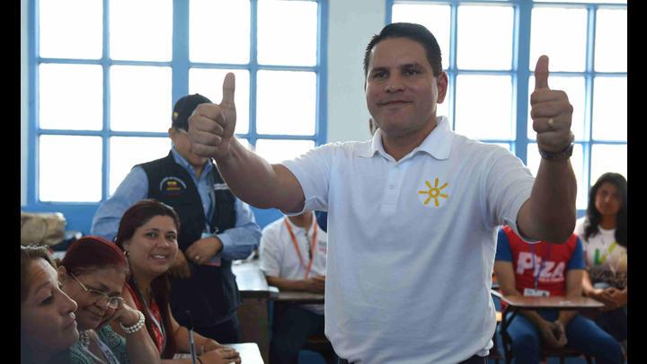 Fabricio Alvarado, el candidato que ganó la primera vuelta en Costa Rica. Foto: La República.