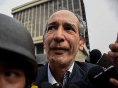 Álvaro Colom fue capturado en Guatemala por supuestos actos de corrupción / AFP PHOTO / Johan ORDONEZ