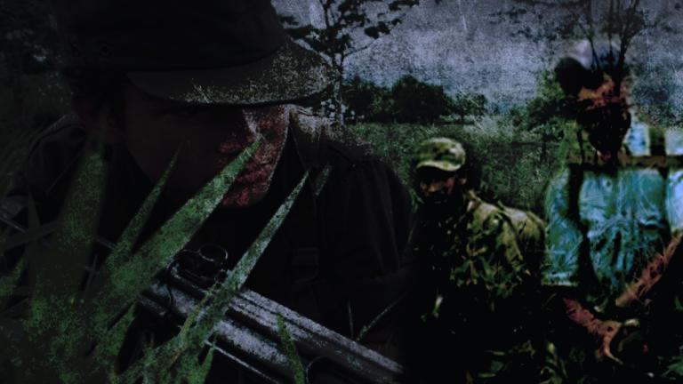 Ilustración sobre los rearmados en las montañas de Nicaragua. Artículo66