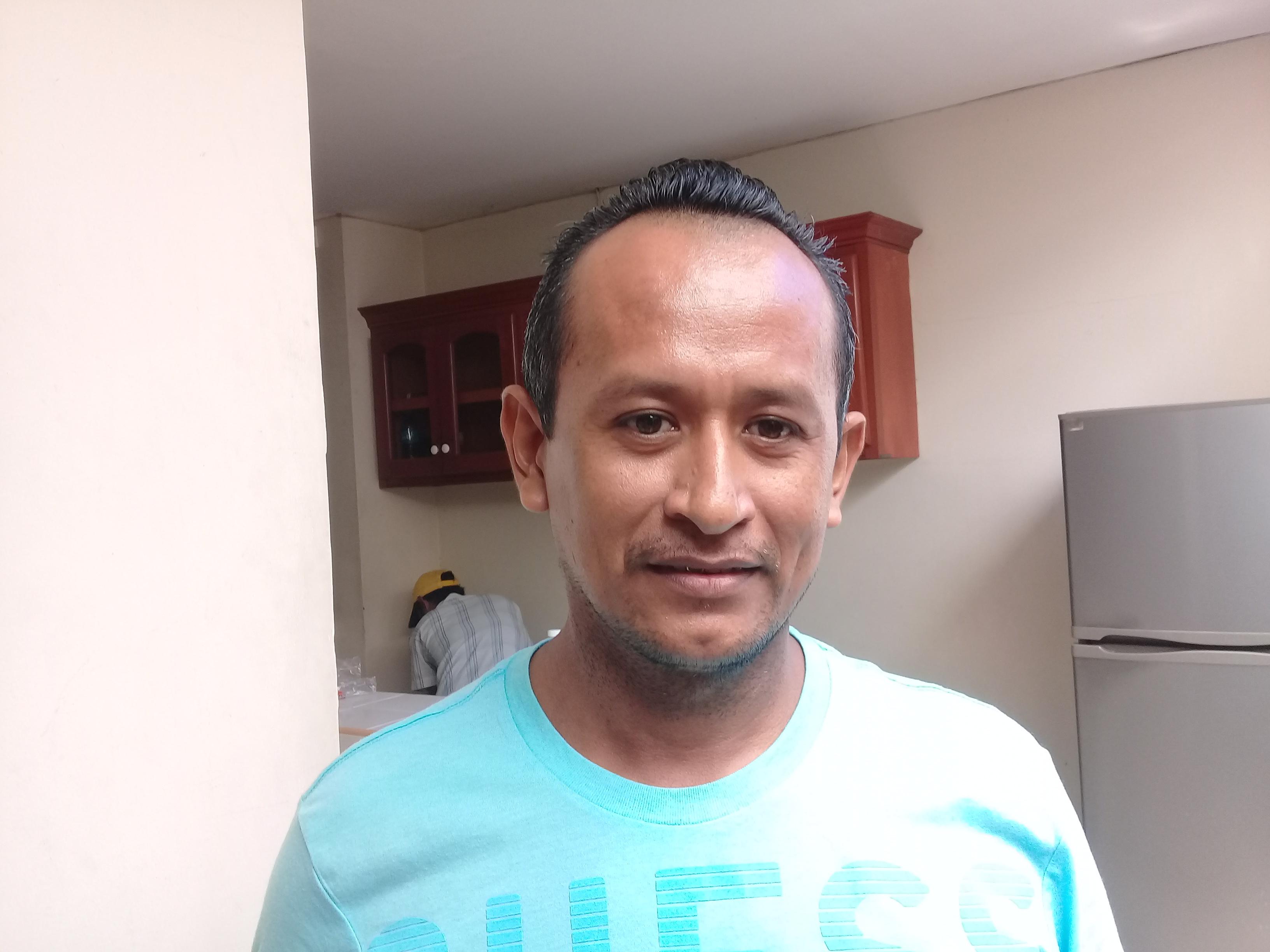 José Noel García, enfermo de IRC originario de Chinandega. Fotografía: A.Mogollón/Artículo66