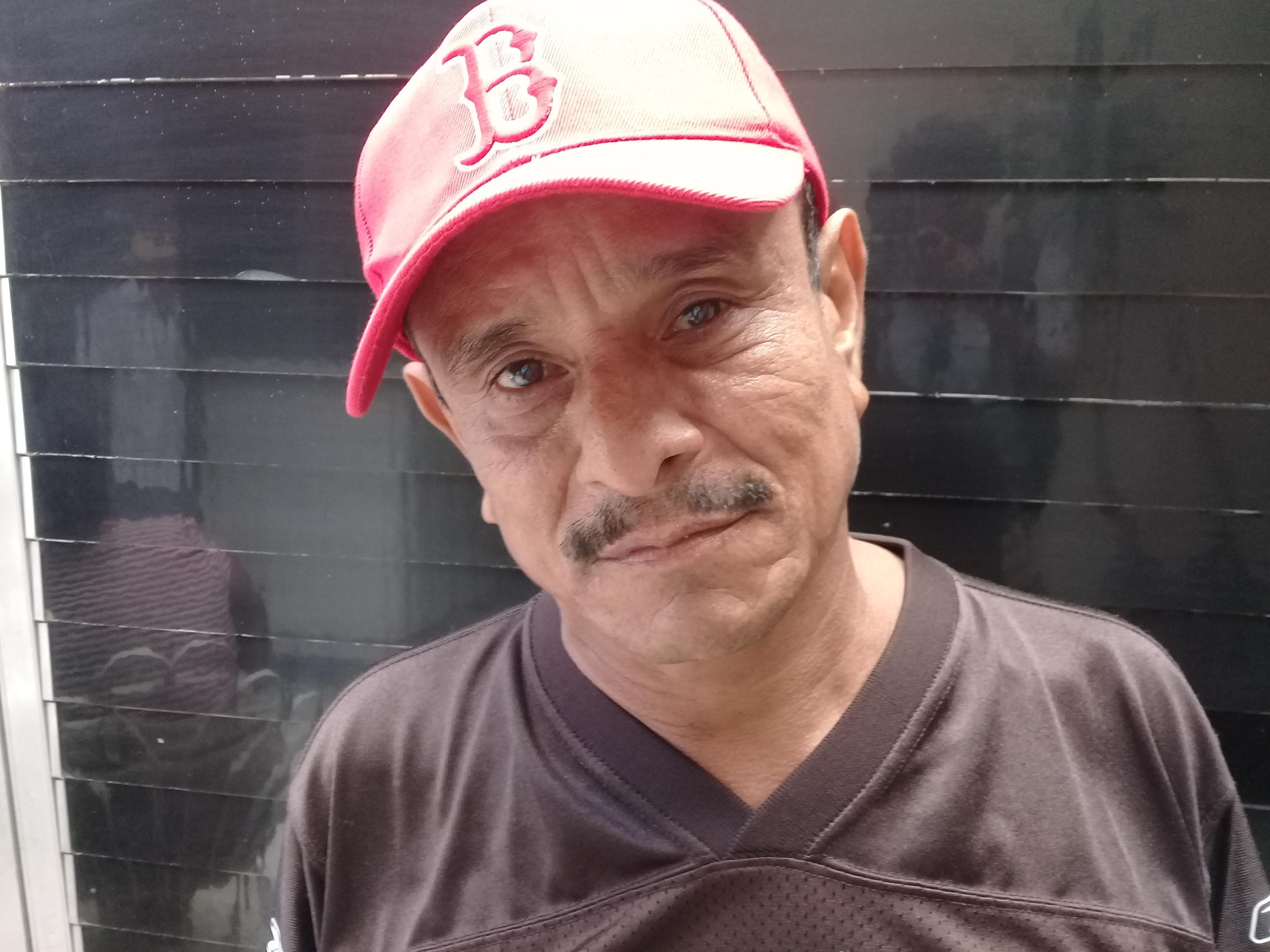 Luis Nicoya Juárez, presidente de la asociación Nueva Esperanza de enfermos de IRC. Foto: A Mogollón/ Artículo66