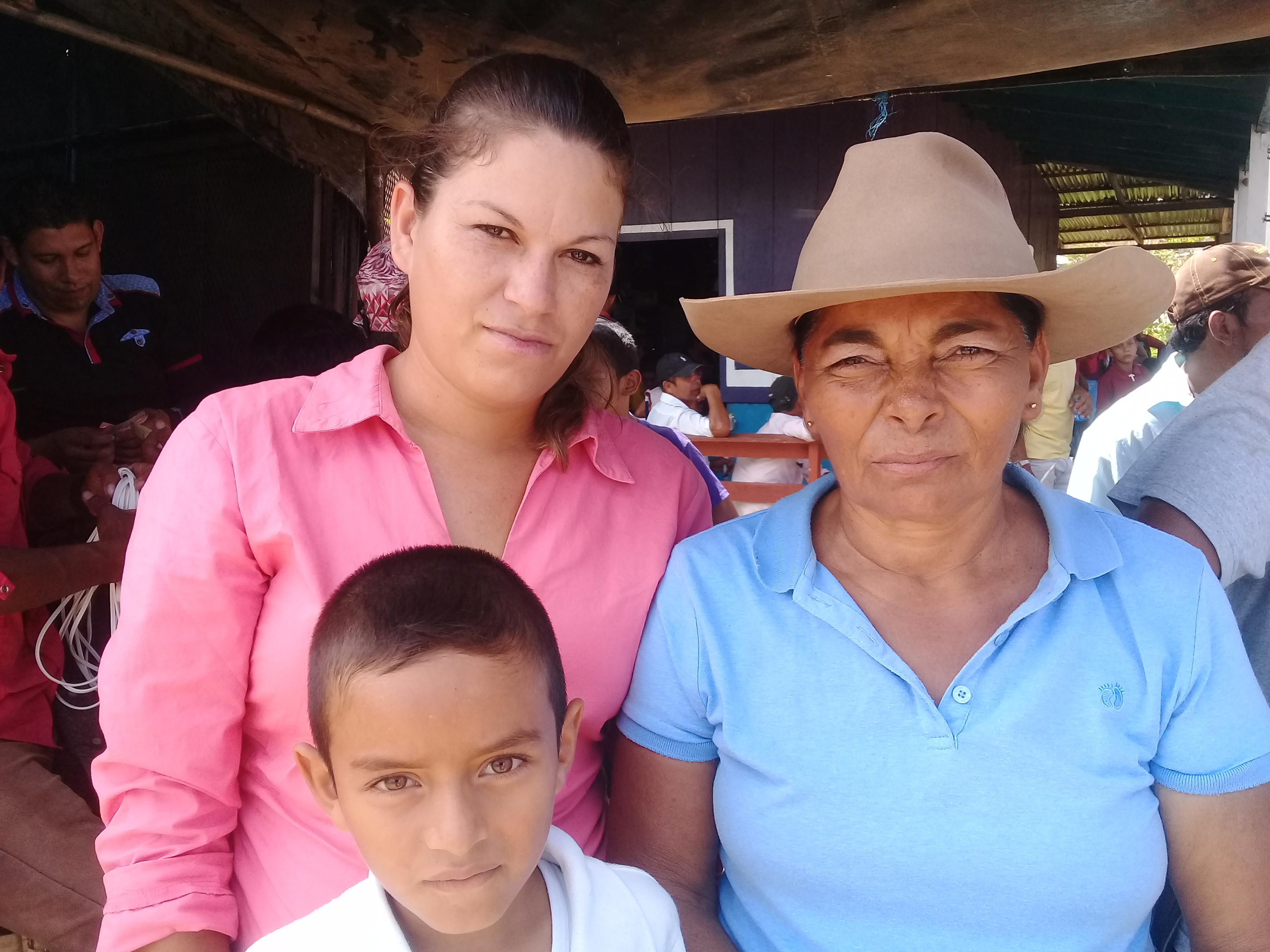Pobladores de las comunidades El Dorado Marcharon contra el Canal. Fotografía/Abixael MG/Artículo66