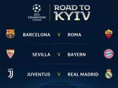 Así quedaron definidos los duelos de 4tos de final de la UEFA Champions League. Foto: UEFA.Com