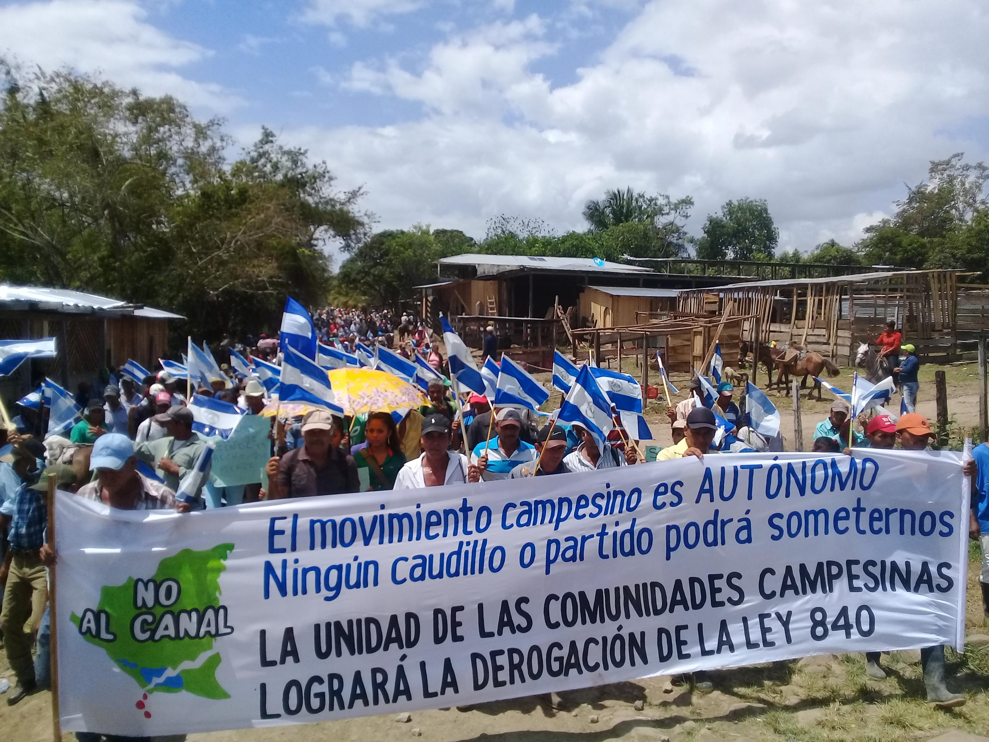 Según los campesinos Seguirán marchando. Fotografía: Abixael MG/Artículo66