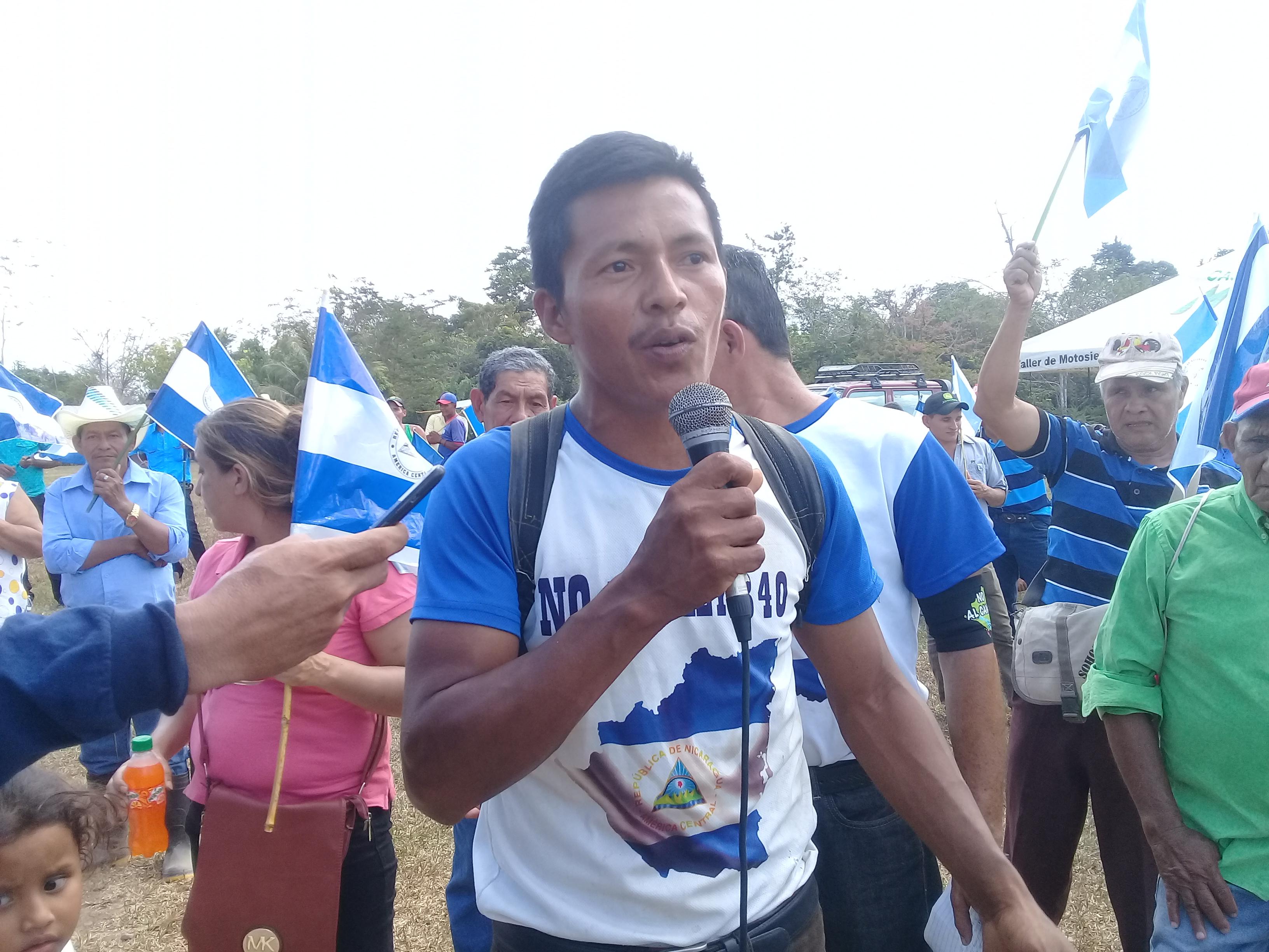 Víctor Díaz, líder del movimiento campesino en el territorio de El Fajardo. Fotografía: Abixael MG/Artículo66