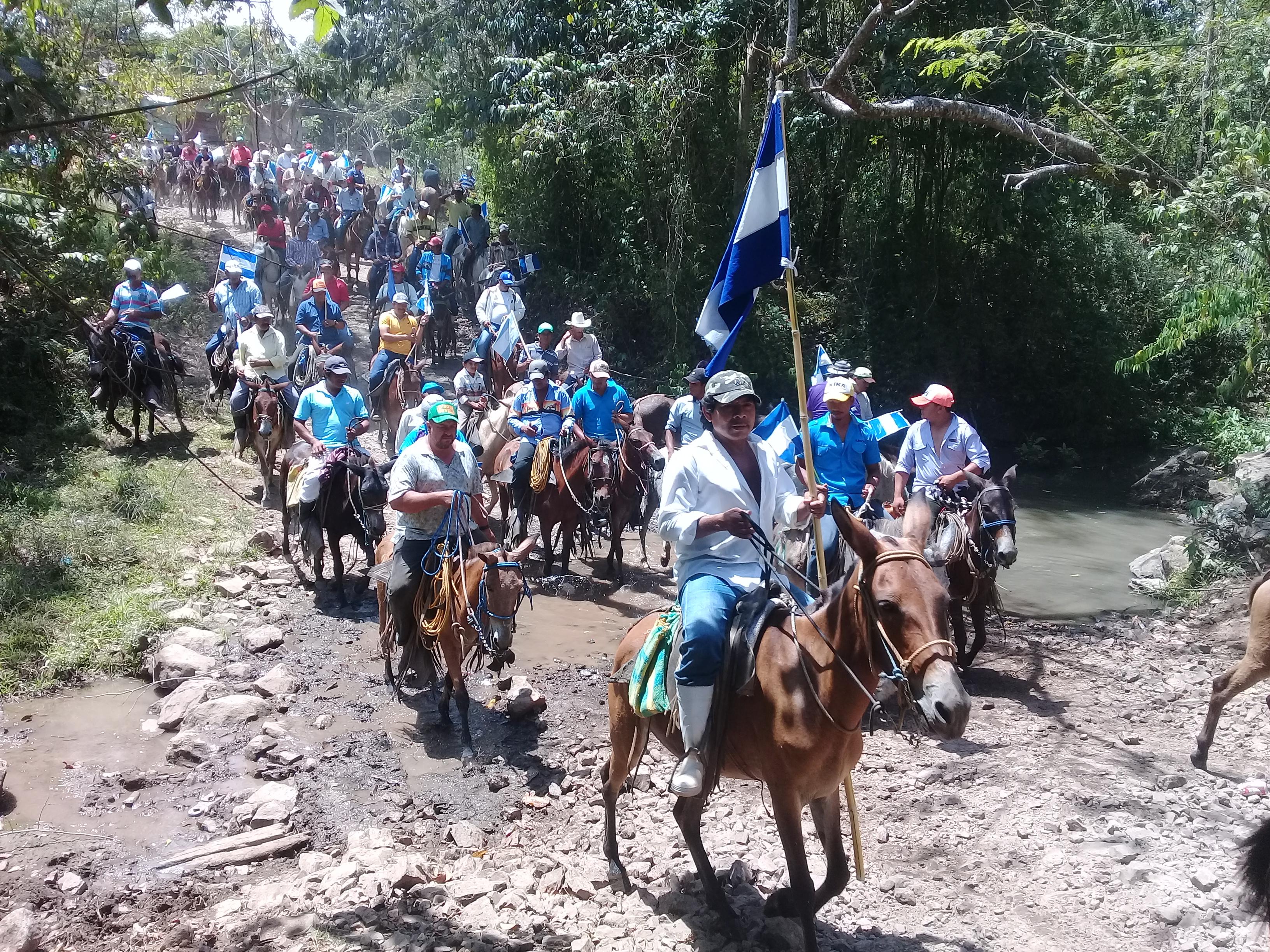 Campesinos resisten en marcha No. 96. Fotografía: Abixael MG/Artículo66