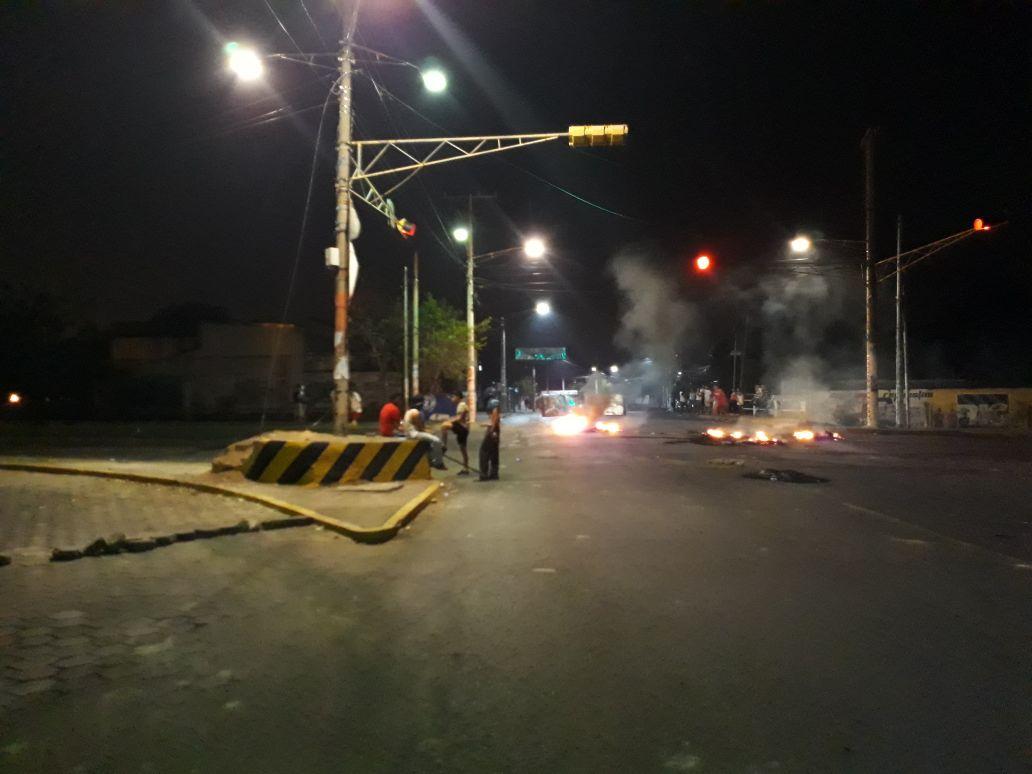 Sector puente El Edén en Managua. Fotografía: Abixael MG/Artículo66