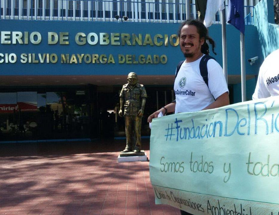 Ministerio de Gobernación niega derecho a la defensa a la Fundación del Río. Foto: Fundación del Río