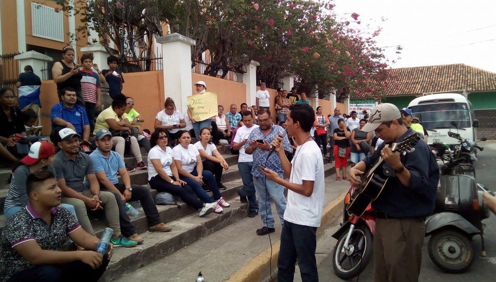 Protestas en Granada: Fotos: F. Sequeira
