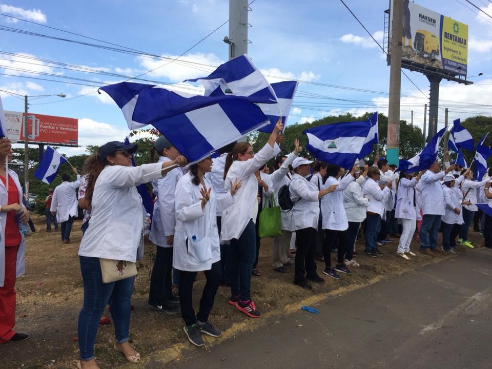Médicos realizarán plantón este sábado 3 de agosto en Managua. Foto: M. Guevara