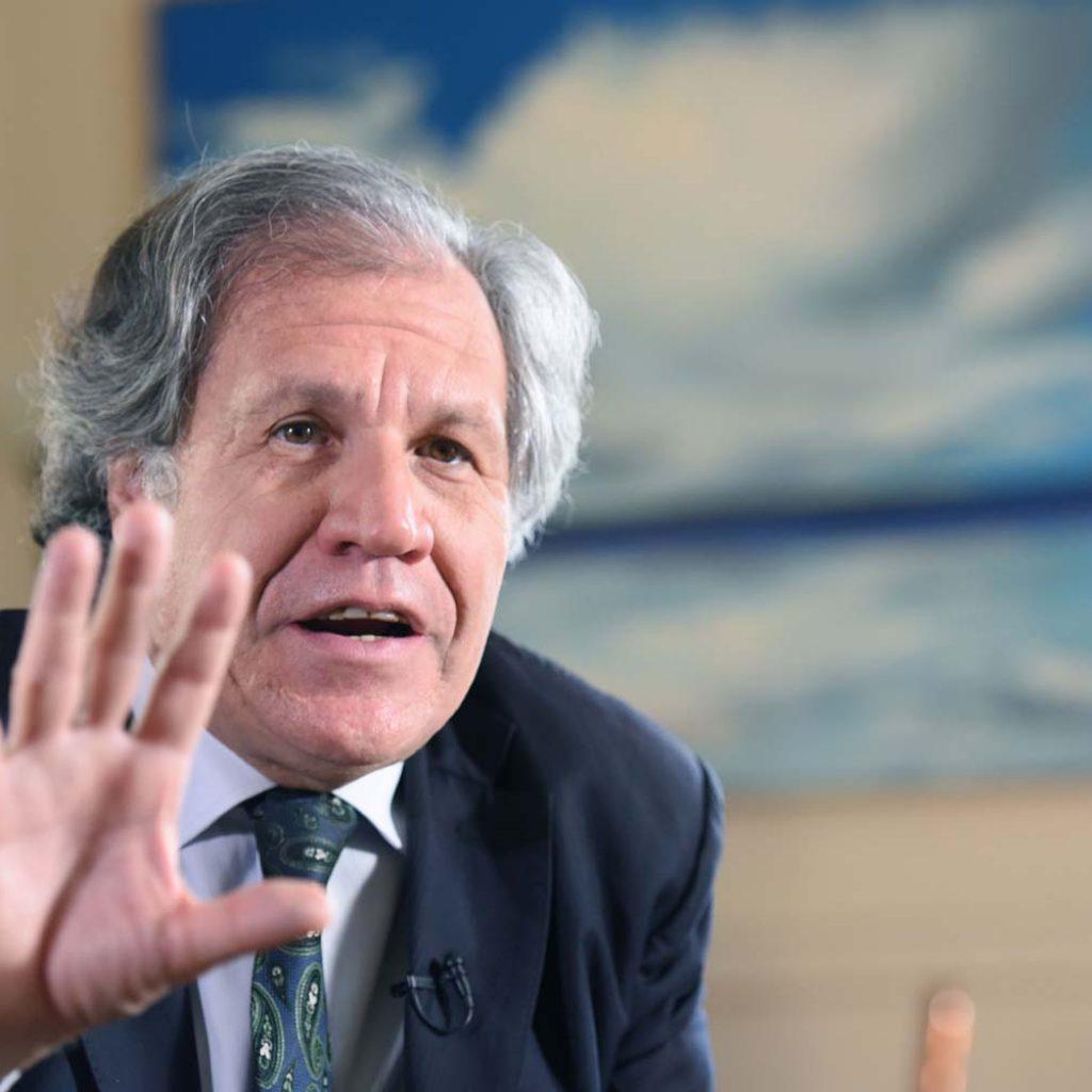 Luis Almagro exhorta a Gobierno de Nicaragua. Foto: EFE